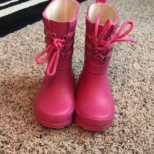 Baby gap toddler rain boots size 5t/6t